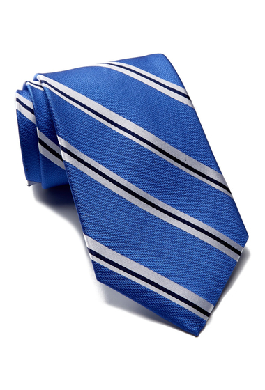 Accesorii Barbati Tommy Hilfiger Silk Street Lane Stripe Tie ROYAL BLUE