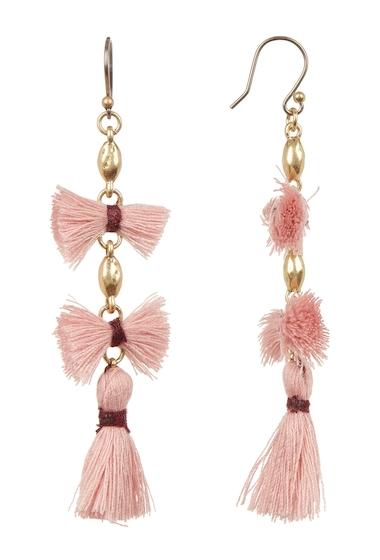 Bijuterii Femei Lucky Brand Multi Tassel Drop Earrings MEDIUM DAR