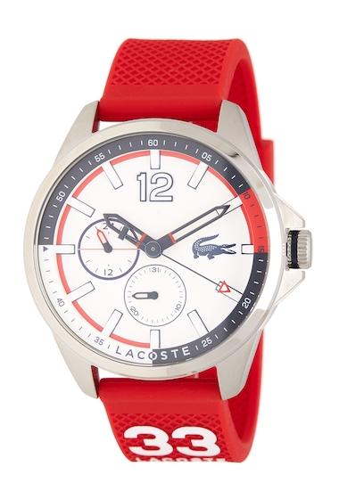 Ceasuri Barbati Lacoste Mens Capbreton Silicone Watch WHITE