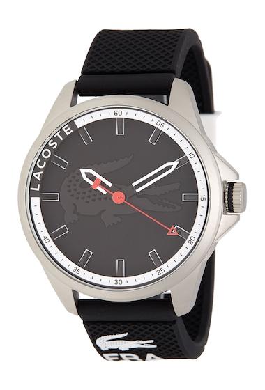 Ceasuri Barbati Lacoste Mens Capbreton Silicone Watch BLACK