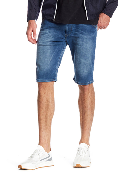 Imbracaminte Barbati Diesel Krooshort Knee Shorts DENIM