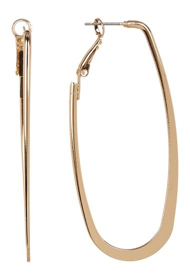 Bijuterii Femei 14th Union Elongated Hoop Earrings GOLD