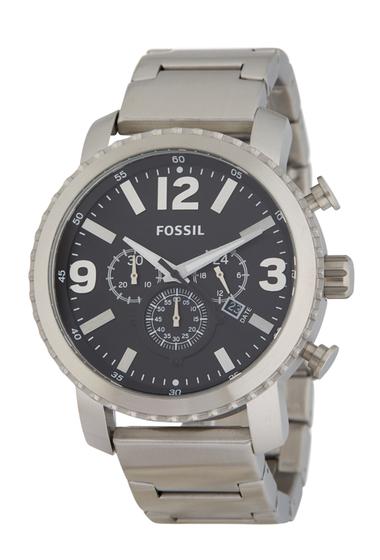 Ceasuri Barbati Fossil Mens Gage Bracelet Watch 50mm STAINLESSBLACK