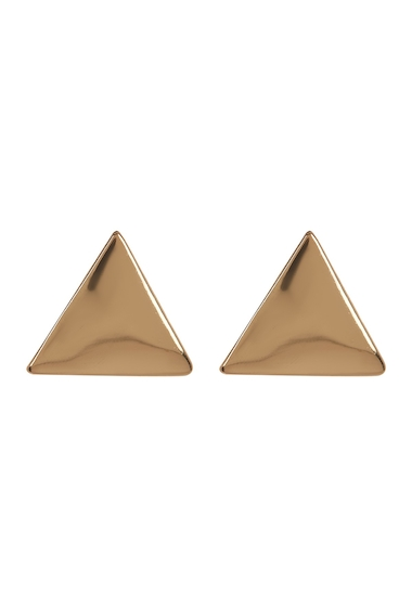 Bijuterii Femei 14th Union Triangle Shape Stud Earrings GOLD