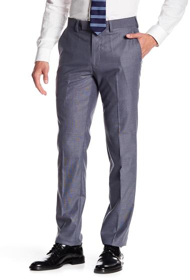 Imbracaminte Barbati Louis Raphael Pin Dot Pants STEEL BLUE