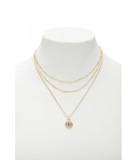 Bijuterii Femei Forever21 Layered Pendant Necklace GOLD