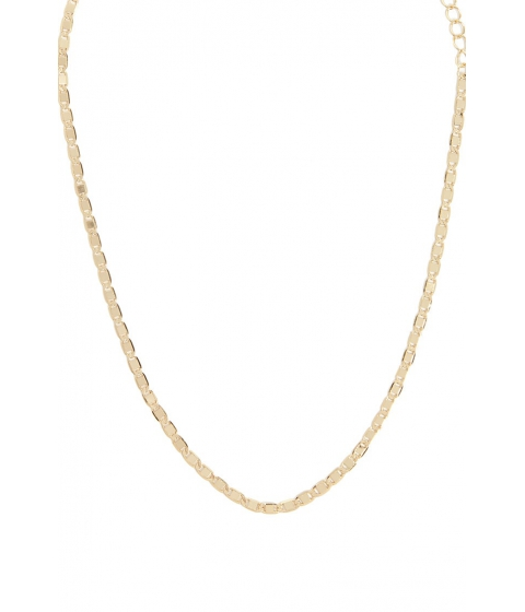 Bijuterii Femei Forever21 Hammered Chain Link Necklace GOLD