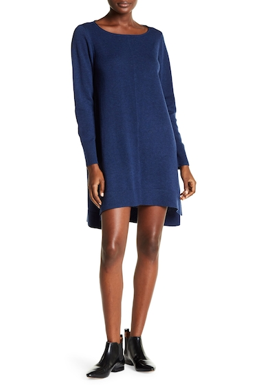 Imbracaminte Femei Eileen Fisher Hi-Lo Sweater Dress BLUE BONNET
