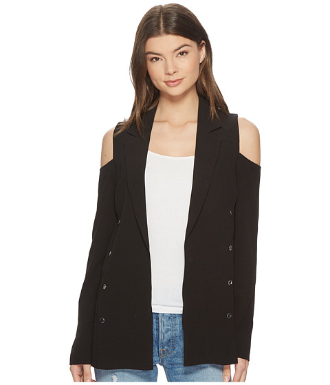 Imbracaminte Femei Romeo Juliet Couture Cold Shoulder Blazer Black