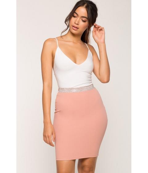 Imbracaminte Femei CheapChic Kamara Rhinestone Pencil Skirt Mauve