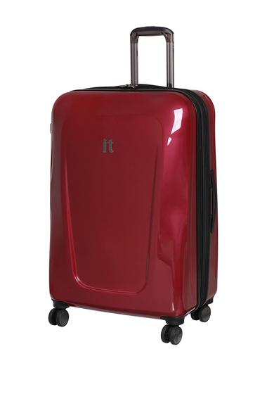 Genti Barbati IT Luggage 312 Exodus 8 Wheel Expandable Case WINE RED