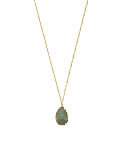 Bijuterii Femei Forever21 Geode Charm Necklace GOLDMINT