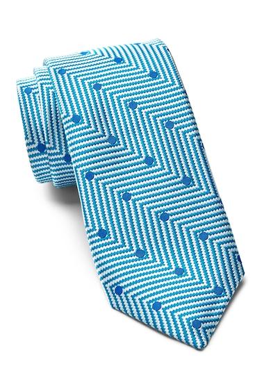 Accesorii Barbati Ted Baker London Chevron Dot Silk Tie TEAL