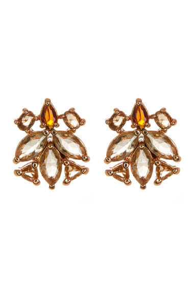 Bijuterii Femei Vince Camuto Glass Stud Earrings YELLOW 01