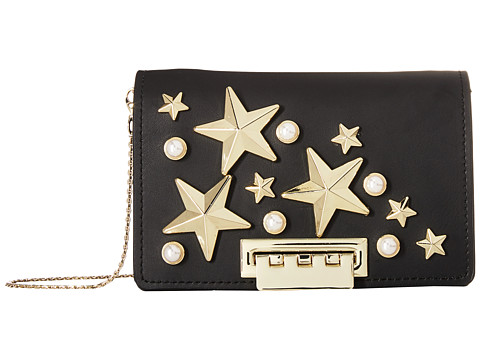 Genti Femei ZAC Zac Posen Earthette Accordion Crossbody - Star Stud Black