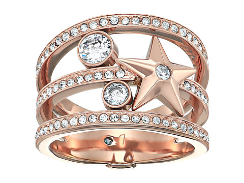 Bijuterii Femei Michael Kors Brilliance Star Banded Ring Rose Gold