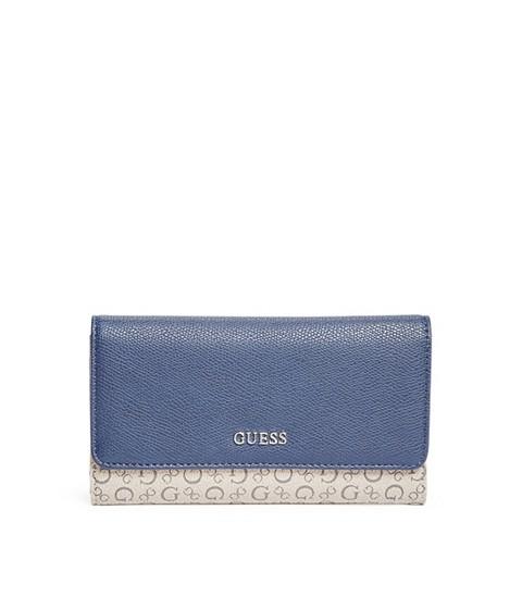 Accesorii Femei GUESS Smoke Slim Wallet blue