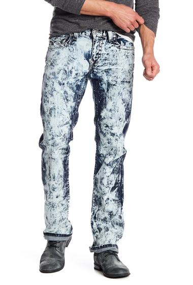 Imbracaminte Barbati True Religion Straight Leg Faded Flap Pocket Jeans ETID ELECT