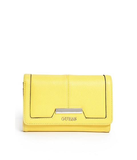 Accesorii Femei GUESS Dustin Smartphone Wristlet yellow