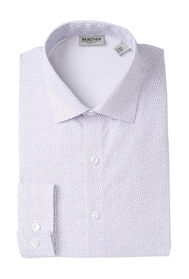 Imbracaminte Barbati Kenneth Cole Reaction Slim Fit Printed Dress Shirt FRSTD LLC