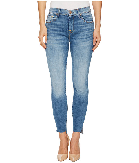 Imbracaminte Femei 7 For All Mankind The High-Waist Ankle Skinny w Step Hem in Fillmore Fillmore