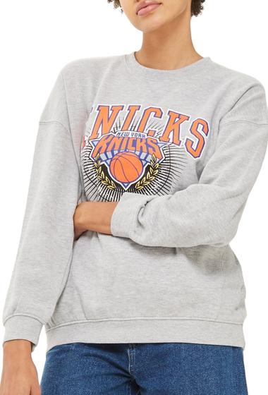 Imbracaminte Femei TOPSHOP x UNK Knicks Sweatshirt GREY MULTI