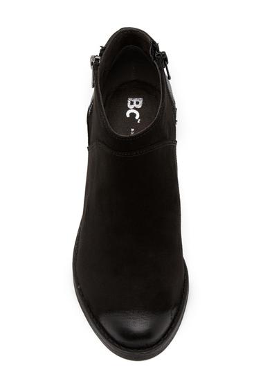 Incaltaminte Femei BC Footwear Union Colorblock Bootie BLACK