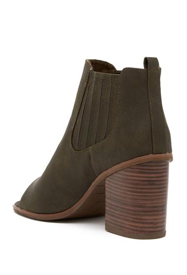 Incaltaminte Femei BC Footwear Breezy Open Toe Bootie OLIVE