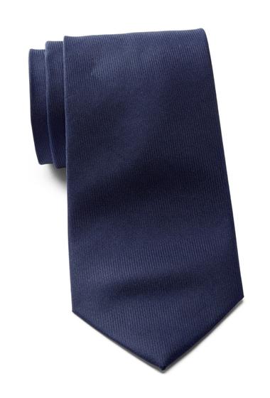 Accesorii Barbati Calvin Klein Vertical Twill Solid Silk Tie NAVY