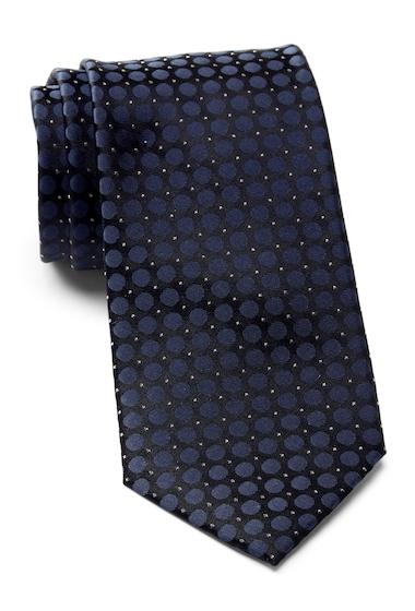 Accesorii Barbati Calvin Klein Glitter Dot Tie NAVY