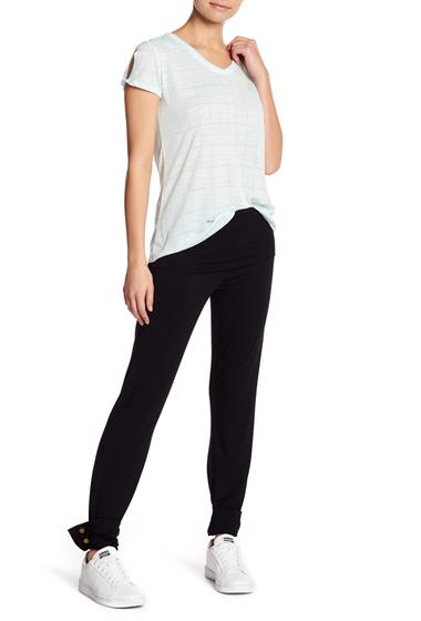 Imbracaminte Femei Splendid Convertible Knit Pants BLACK