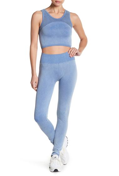 Imbracaminte Femei Splendid Moto Seamless Leggings MOONLIGHT BLUE