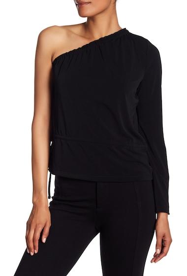 Imbracaminte Femei Rachel Rachel Roy One Shoulder Bell Sleeve Blouse BLACK