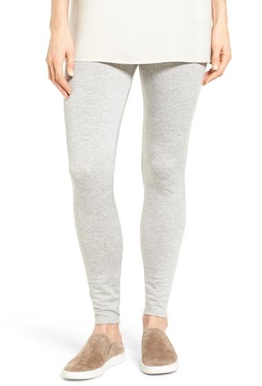 Imbracaminte Femei Eileen Fisher Tencel Fleece Ankle Leggings Regular Petite DARK PEARL