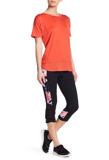 Imbracaminte Femei Nanette Lepore Paneled Skimmer Crop Leggings BLACK