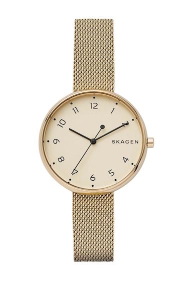 Ceasuri Femei Skagen Womens Signatur Mesh Bracelet Watch 38mm GOLD