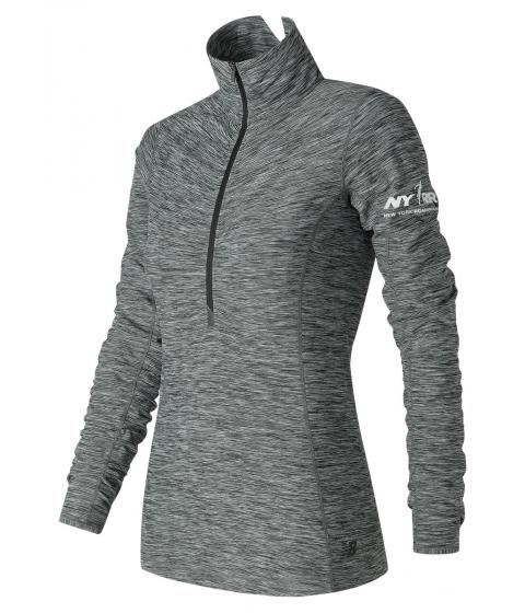 Incaltaminte Femei New Balance Run for Life In Transit Half Zip Grey with Grey
