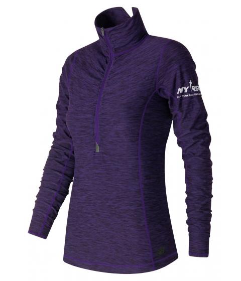 Incaltaminte Femei New Balance Run for Life In Transit Half Zip Purple