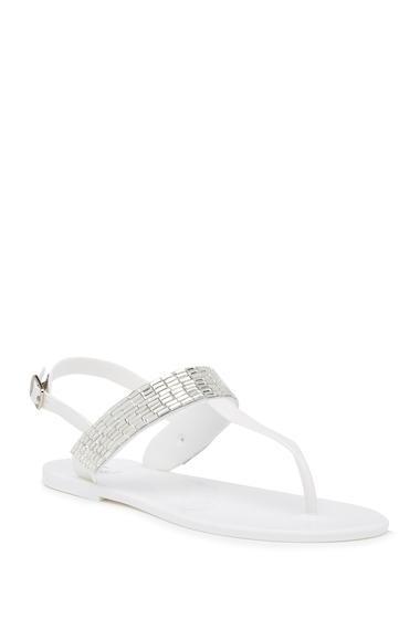 Incaltaminte Femei Dizzy Shine Thong Sandal WHITE