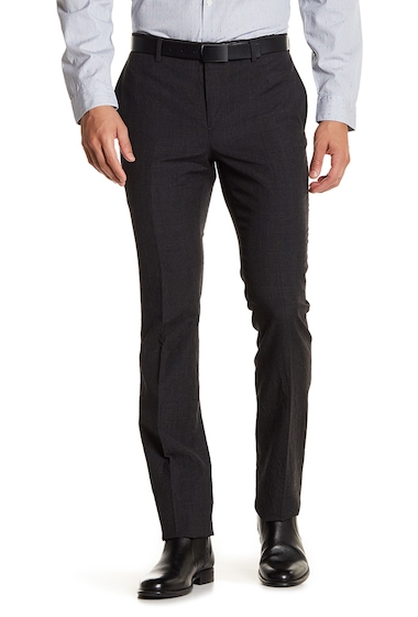 Imbracaminte Barbati John Varvatos Collection Wool Slim Fit Pants CARBON GRE