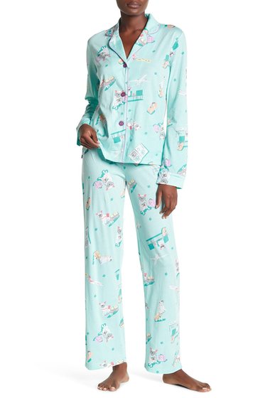 Imbracaminte Femei PJ SALVAGE Travel Lily Pajama Set MINT