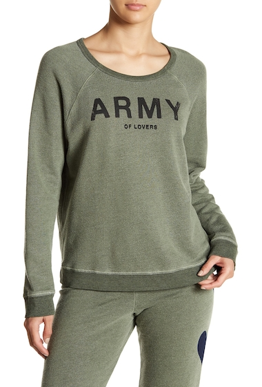 Imbracaminte Femei Sundry Army of Lovers Pullover CACTUS