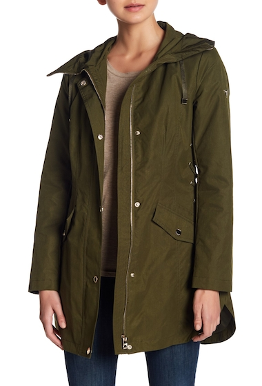 Imbracaminte Femei GUESS Hooded Anorak OLIVE