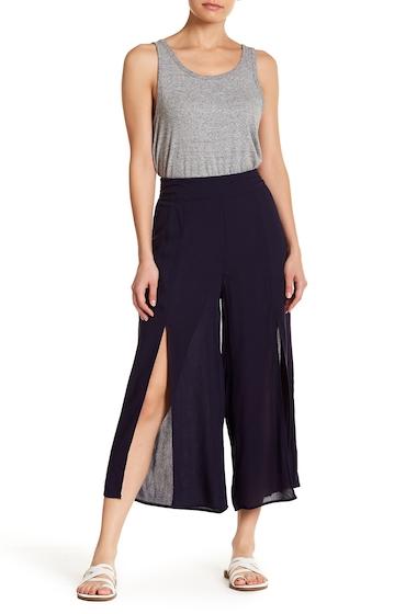 Imbracaminte Femei GOOD LUCK GEM High Waisted Split Front Pants NAVY