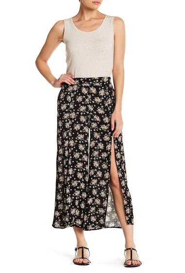 Imbracaminte Femei GOOD LUCK GEM High Waisted Split Front Pants FLOWER