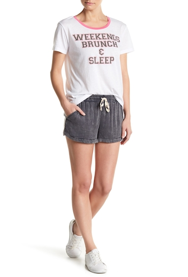 Imbracaminte Femei Chaser Knit Shorts WHT