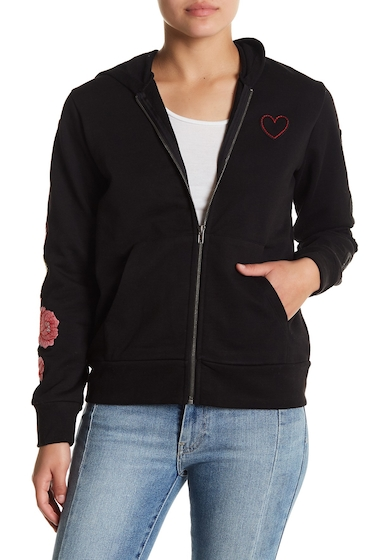 Imbracaminte Femei Chaser Tiger Embroidered Hoodie TRBLK
