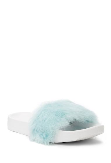 Incaltaminte Femei UGG Royale Genuine Fur Slide BBLU