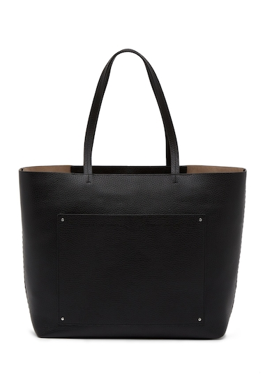Genti Femei Rebecca Minkoff Panama Leather Tote BLACK
