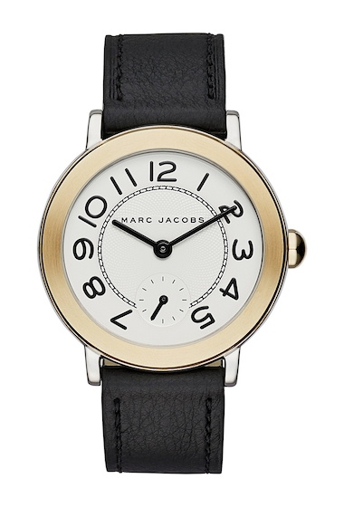 Ceasuri Femei Marc Jacobs Womens Riley Leather Watch 36mm NO COLOR